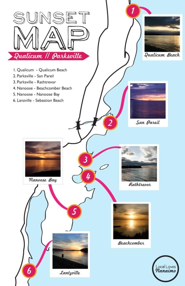 Sunset Map