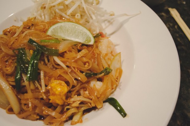 Pad Thai from Parksville's White Elephant